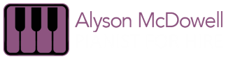 Alyson McDowell Professional Pianist